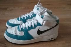 Custom buty Jordan1 - efekt końcowy