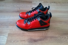 Custom buty  Jordan4 - efekt końcowy
