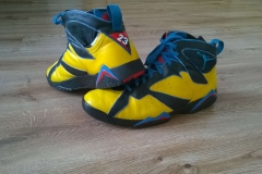 Custom buty Jordan7 - efekt końcowy