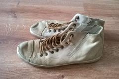 Farbowanie butów skórzanych - wygląd przed zmianą
