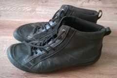 farbowanie butów  ecco - stan początkowy