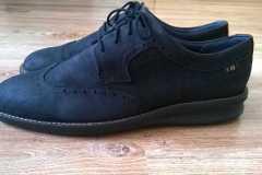 farbowanie nubuku buty ecco - efekt końcowy