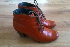Malowanie butów damskich - efekt końcowy