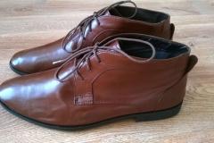 Renowacja butów - efekt końcowy