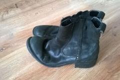 Renowacja butów damskich - wygląd przed zmianą