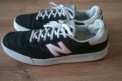 Renowacja butów Newbalance -efekt końcowy