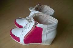 renowacja butów reserved - efekt końcowy