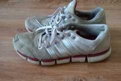 renowacja butów sportowych adidas -stan początkowy