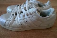 Renowacja butów Superstar - wygląd przed zmianą