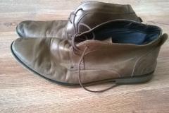 Renowacja butów - wygląd przed zmianą