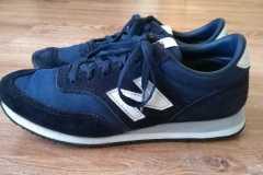 renowacja koloru zamszu buty nb - efekt końcowy