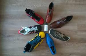 Buty po renowacji