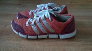 Malowanie butów adidas koniec
