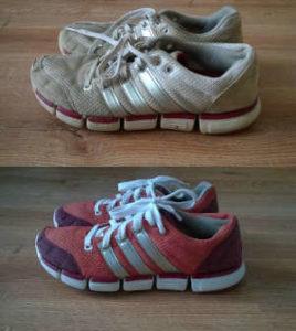 Renowacja butów Adidas
