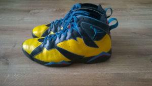Custom butów Air Jordan 7
