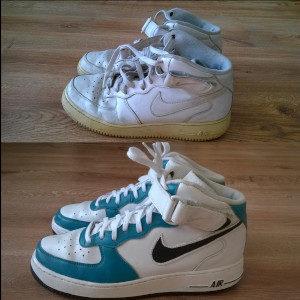 Custom obuwia Nike