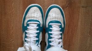 Noski butów po personalizacji