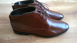 Efekt końcowy renowacji butów