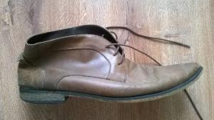 Renowacja zdeformowanych butów skórzanych
