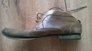 Renowacja butów z skóry naturalnej