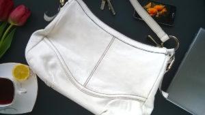 Efekt renowacji torebki skórzanej
