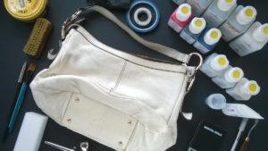 Środki do renowacji torebki skórzanej