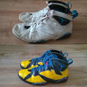 custom butów nike jordan 7