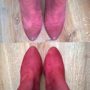 Renowacja koloru w butach zamszowych