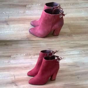Farbowanie butów zamszowych dla wyrównania koloru