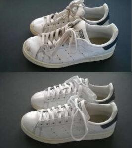 malowanie butów stan smith