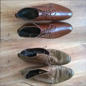 Malowanie butów skórzanych Aldo