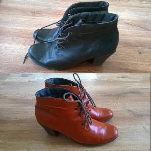 Zmieniony kolor butów