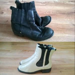 Zmiana koloru damskiego obuwia