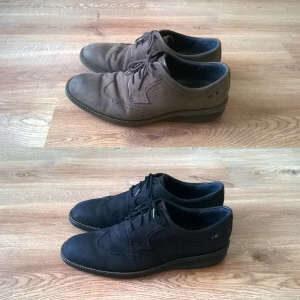 Farbowanie zaplamionych butów z nubuku