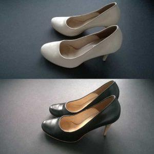 Odnowa butów damskich