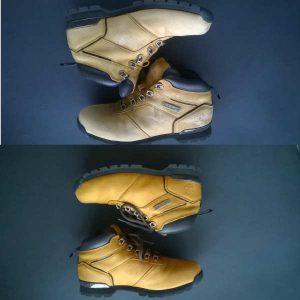 Renowacja butów timberland
